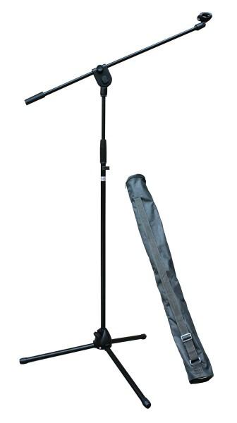 EL180062 E-Lektron EMS01 Mikrofonständer mit Galgen & Tragetasche