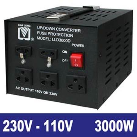 EL651210 Spannungswandler 230/110V 3000W