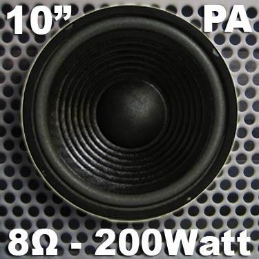 "EL901204 MHB-10 PA-Basslautsprecher 10"" / 25cm"