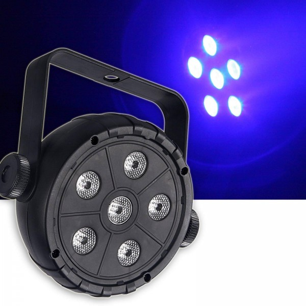 EL153525 E-Lektron PAR-6.3 mini RGB LED Strahler Lichteffekt