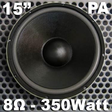 "EL901209 MHB-15 PA-Basslautsprecher 15"" / 38cm"