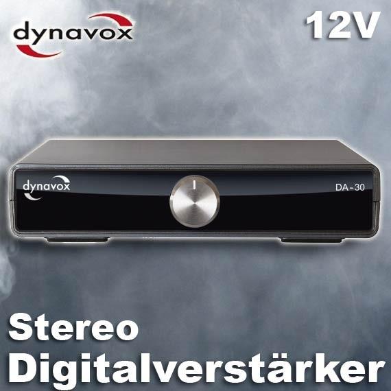 EL103324 Dynavox DA-30 12V Digitalverstärker