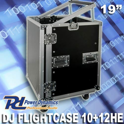 EL171728 Power Dynamics F12U8 Flightcase mit Rollen