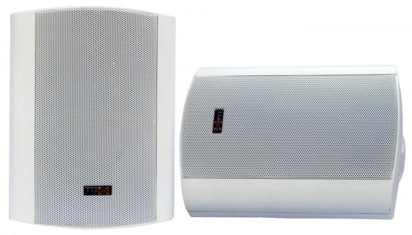 """EL100187 E-Lektron EWL5P-W Lautsprechersatz 5"""" mit Wandhalter Weiß"""