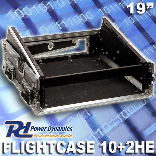 EL171715 Power Dynamics F2U10 Flightcase für Mischpult