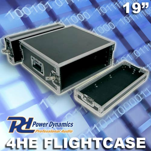 "EL171427 Power Dynamics F4U Flightcase 19"" - 4HE"