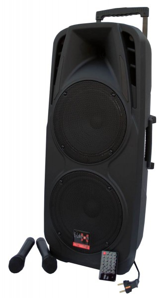 EL810490 E-Lektron EL225-UHF mobiles DJ PA Soundsystem