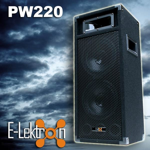 EL179746 E-Lektron PW220 DJ PA Lautsprecher