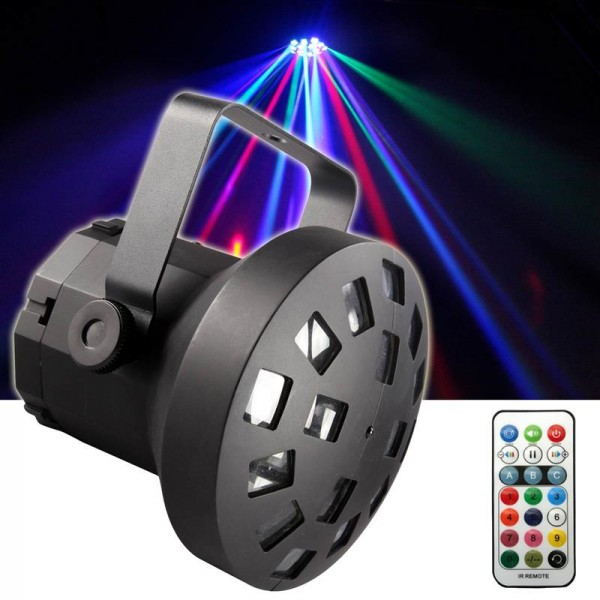 EL153536 E-Lektron LMR-9W USB LED Mushroom Lichteffekt