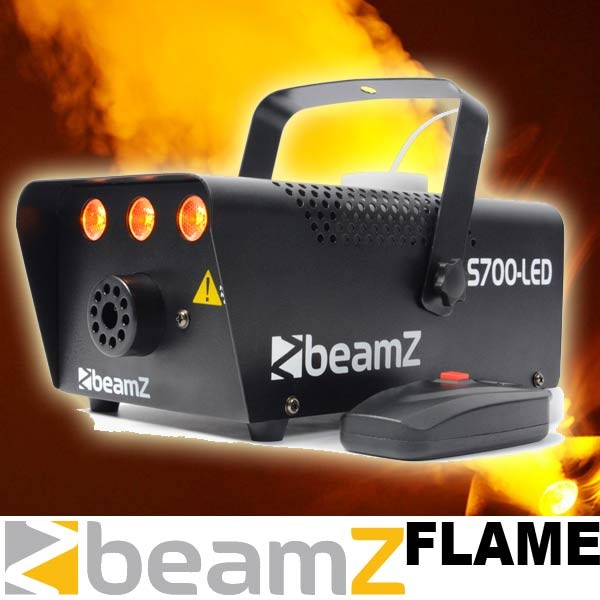 "EL160426 Beamz S700-LED Nebelmaschine ""Flame"""
