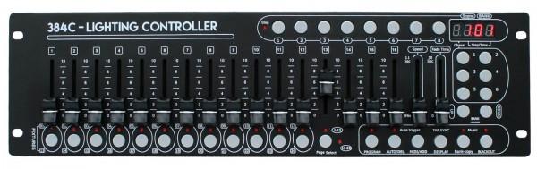 EL154069 E-Lektron C-384C DMX Controller Lichtsteuerpult 24x16 Kanal