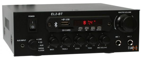 EL103122 E-Lektron EL2-BT stereo HiFi Verstärker Class-D