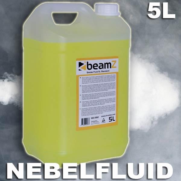 EL160582 Beamz FSMF5S Standard (B) Nebelfluid auf Wasserbasis 5L