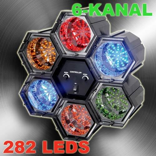 EL153364 LED Lichtorgel 6+1
