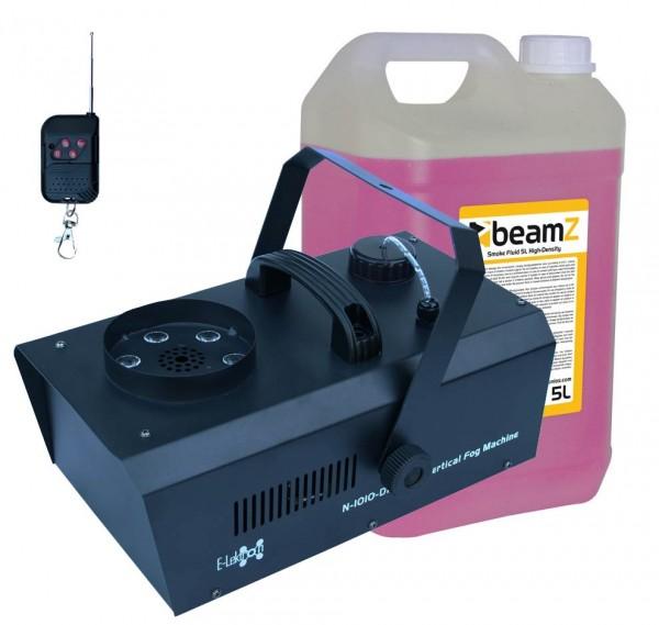 EL189048 E-Lektron N-1010-DMX Nebelmaschine Vertikal inkl. Nebelfluid