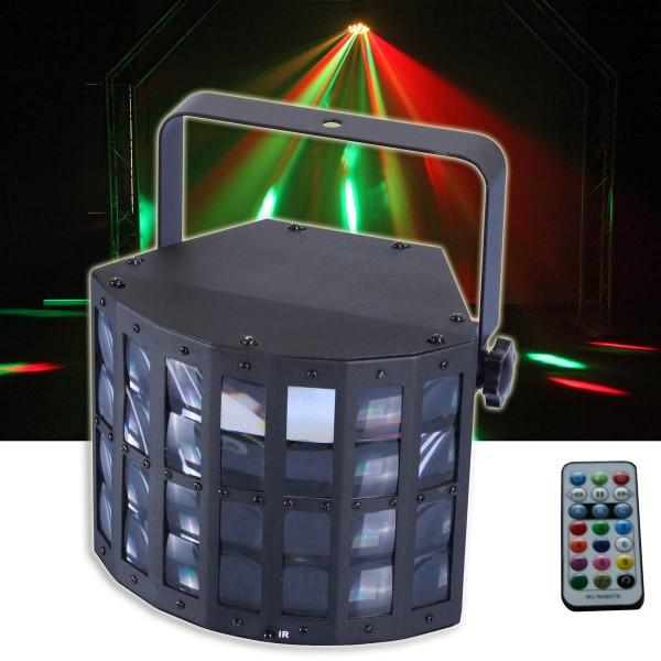 EL153530 E-Lektron DERBY-9W RGB LED Disco Lichteffekt