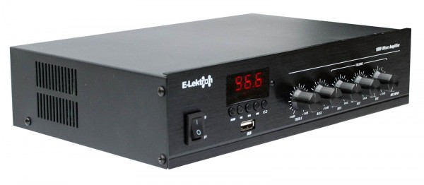 EL952078 E-Lektron PA-TRON45 100V ELA Misch-Verstärker 45W
