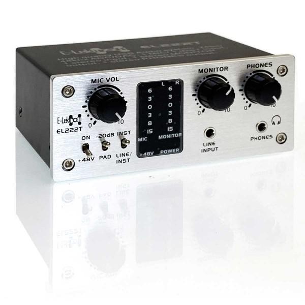EL172594 E-Lektron EL222T USB Audio Interface