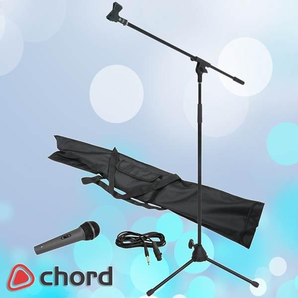 EL180066 Chord Mikrofonsatz inkl. Mikrofonständer