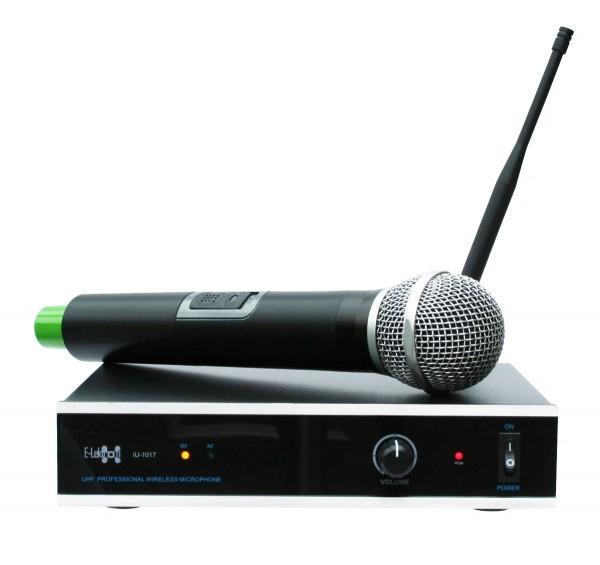 EL173757 E-Lektron IU-1017 UHF Funkmikrofon System mit Handmikrofon
