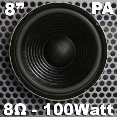 "EL901202 MHB-8 PA-Basslautsprecher 8"" / 20cm"