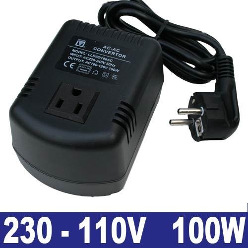 EL651004 Spannungswandler 230/110V 100W