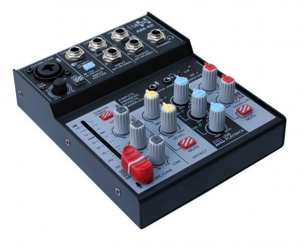 EL172604 E-Lektron AIM-42 Audio Mixer USB-Interface