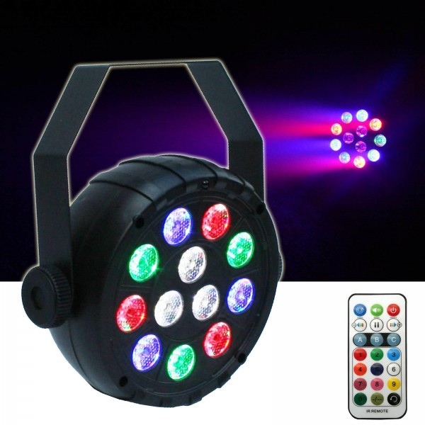 EL153539 E-Lektron PAR-12 USB RGBW LED Strahler Spotlight