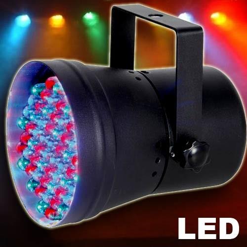 EL151148 LED Strahler PAR36 60x10mm Beamz DMX