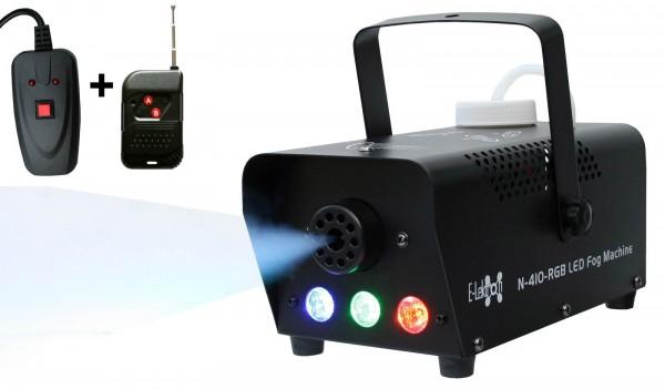 EL160410 E-Lektron N-410-RGB Nebelmaschine 400W Funk-Fernbedienung
