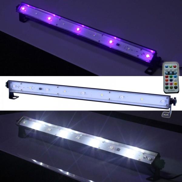 EL153501 E-Lektron LUS-1 LED UV- Strobe-Leiste Lichteffekt