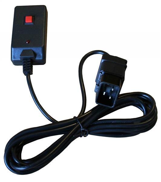 EL160428 Ersatz Kabel-Fernbedienung für E-Lektron Nebelmaschine