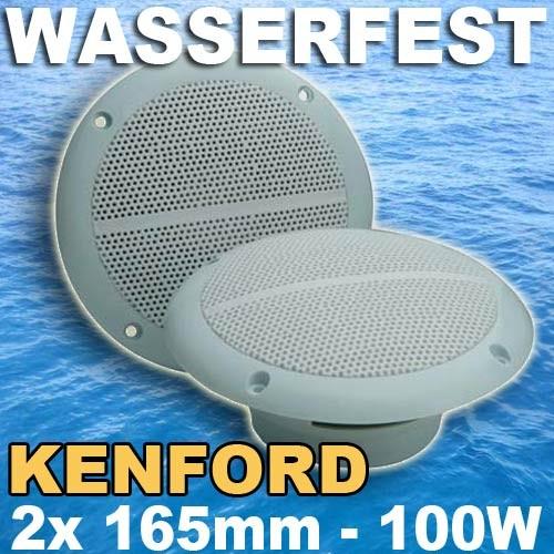 EL125096 Kenford Marine M65 wasserfester stereo Lautsprechersatz