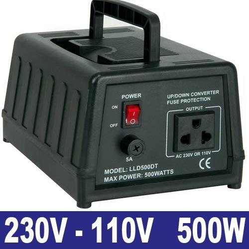EL651123 Spannungswandler 230/110V 500W