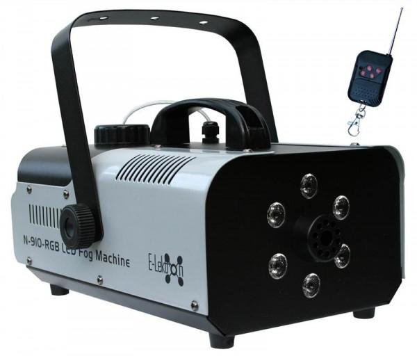 EL160416 E-Lektron N-910-RGB Nebelmaschine 900W Funk-Fernbedienung