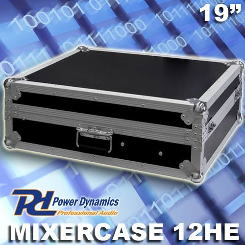 "EL171780 Power Dynamics FU12 Flightcase / Mixercase 19"" - 12HE"