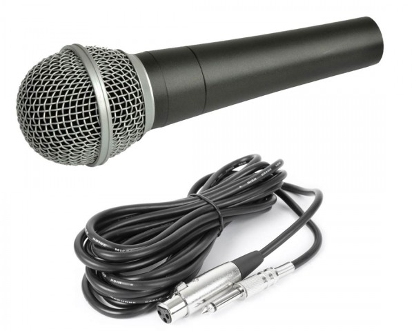 EL173479 DJ / PA Vokal-Mikrofon dynamisch inkl. Mikrofonkabel