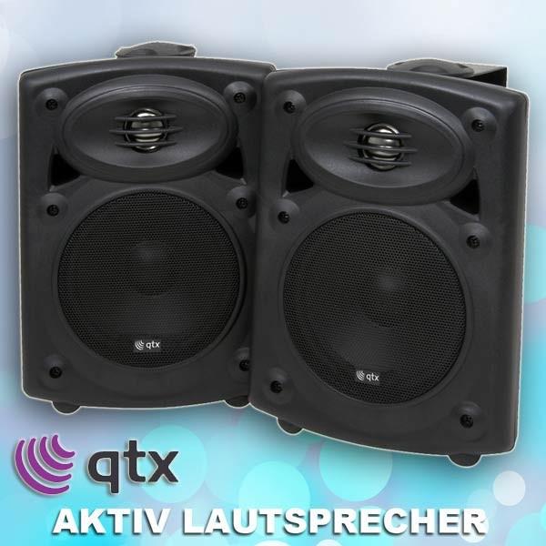 EL178200 qtx QR5AB stereo Aktivlautsprecher System