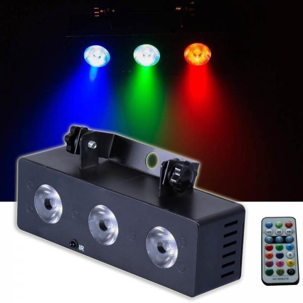 EL153528 E-Lektron MS-3 LED Multi-Spot Lichteffekt