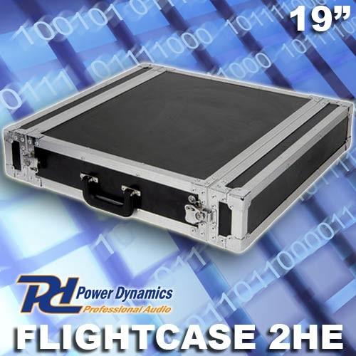 "EL171730 Power Dynamics F2U Flightcase 19"" - 2HE"