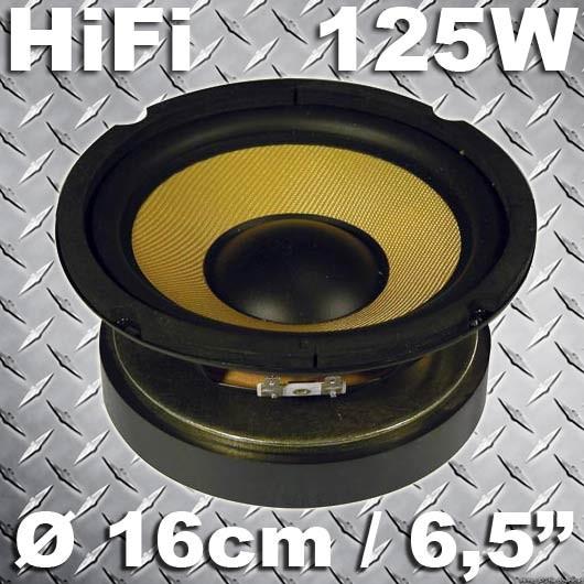 EL902423 Fenton HiFi Lautsprecher Kevlar Membran 16cm / 125W