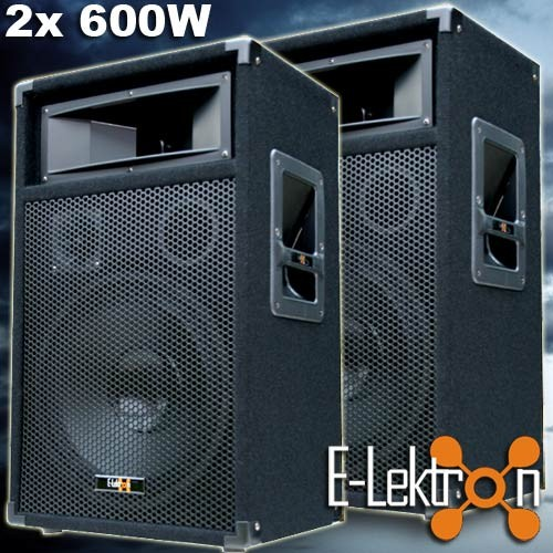 EL279767 E-Lektron PW30 DJ PA Lautsprecher Paar