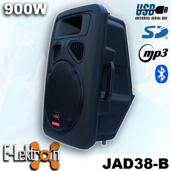 "EL815820 E-Lektron JAD38-B digital Soundsystem 15"" MP3 & Bluetooth"