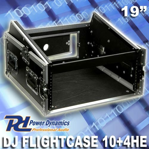 EL171718 Power Dynamics F4U10 Flightcase für Mischpult