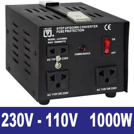 EL651184 Spannungswandler 230/110V 1000W