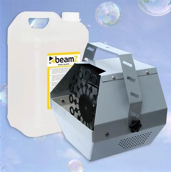 EL189818 E-Lektron B600 Seifenblasenmaschine inkl. 5L Fluid