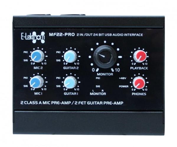 EL172591 E-Lektron MF22-PRO USB Audio Interface