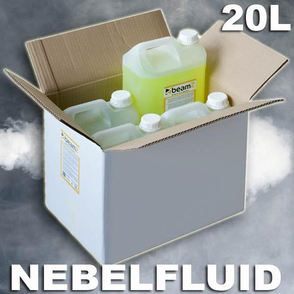 EL160580 Beamz Standard (B) Nebelfluid auf Wasserbasis 4x5L