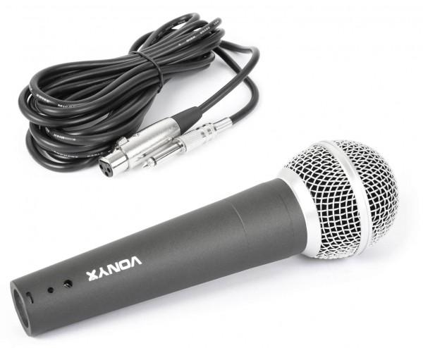 EL173479 Vonyx DM58 Vokal-Mikrofon dynamisch inkl. Mikrofonkabel
