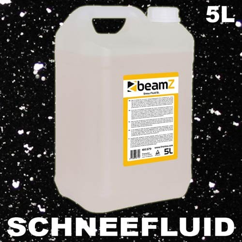 EL160579 Beamz Schneefluid 5L Kanister